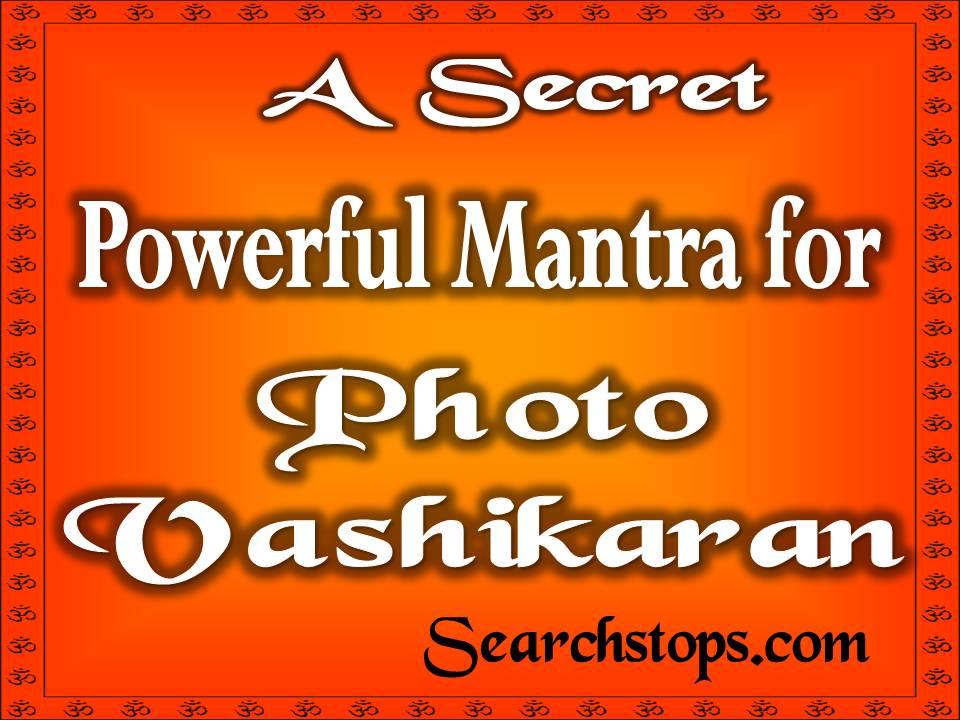 Photo Vashikaran Mantra