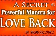 Love Back Mantras Spells